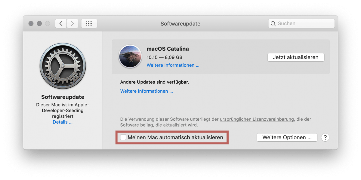 Soll ich meinen Mac auf macOS 10.15 Catalina updaten? 1