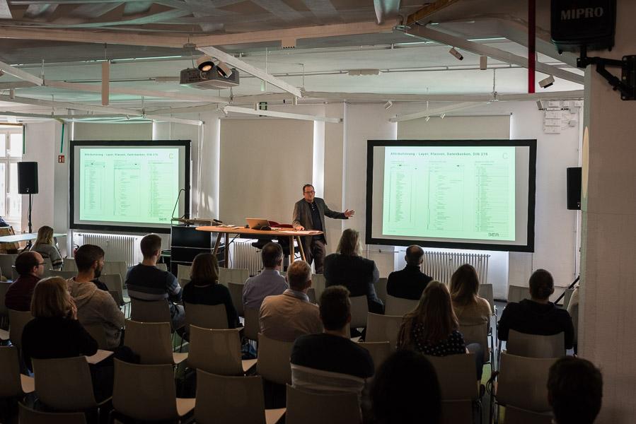 Vortrag von Oliver Engelmayer, BEM bei Inside VECTORWORKS 2020