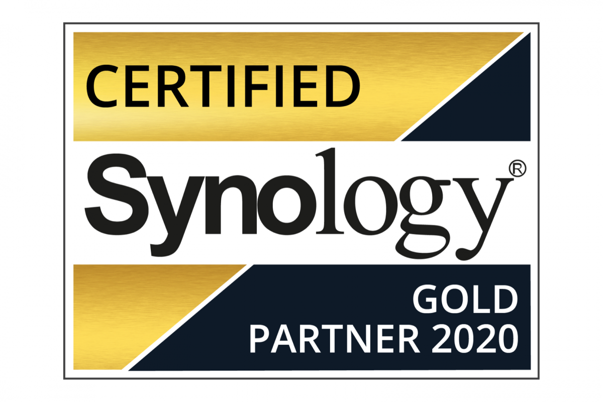 Synology Certified Gold Partner 2020 5