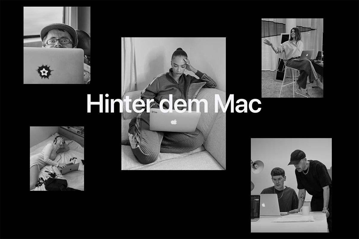 """""""Hinter dem Mac"""" Apple Kampagne mit Kreativen aus Deutschland"""